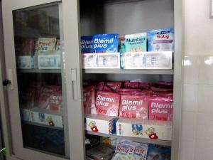 centro de nutrición del Orfanato de Niono, 2010.