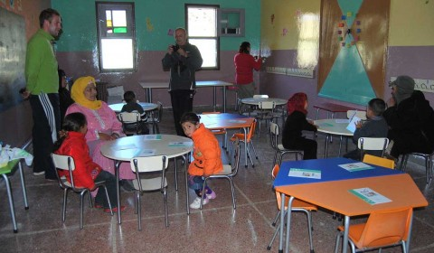 DISPENSARIO DE PRIMEROS AUXILIOS EN MARRUECOS