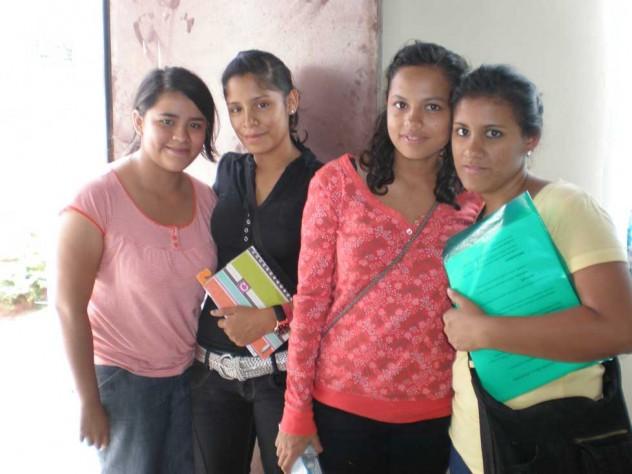 Alumnas del curso.